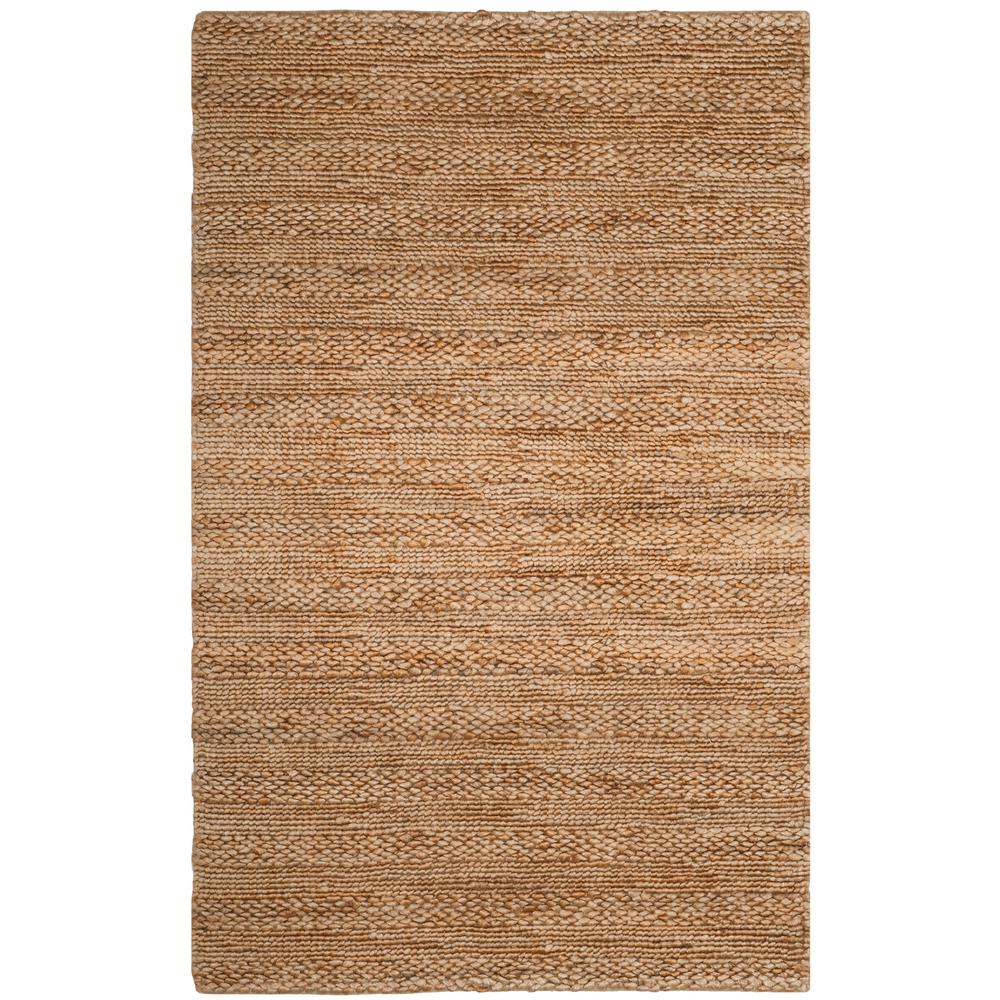 Natural Fiber Beige 6 ft. x 9 ft. Area Rug