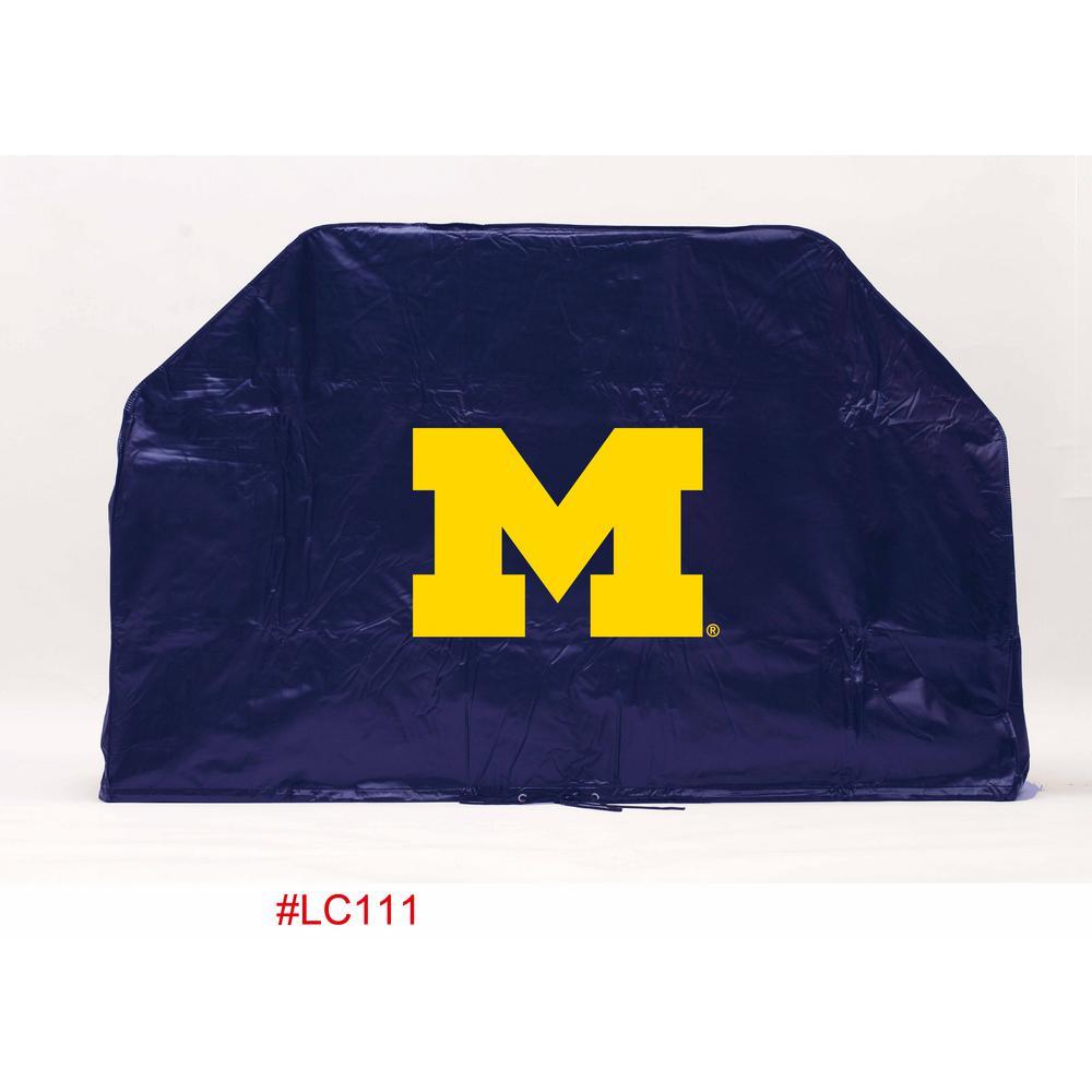 68 in. NCAA Michigan Grill Cover