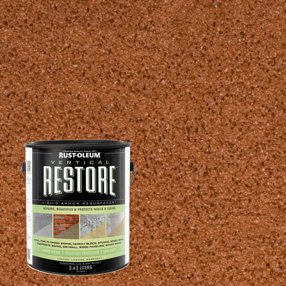 1-gal. California Rustic Vertical Liquid Armor Resurfacer for Walls and Siding