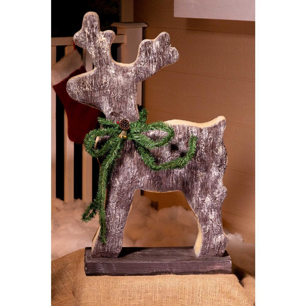 Christmas Reindeer Statue