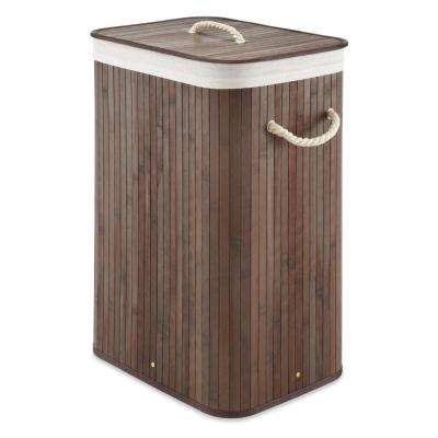 Rectangular Bamboo Hamper