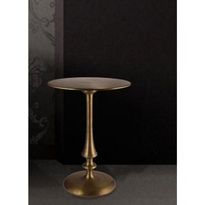 Kenroy Home Upton Antique Brass End Table by Kenroy Home