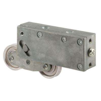 1-1/2 in. Stainless Steel Sliding Door Tandem Roller Assembly, 1-1/8 in. x 1-13/16 in. Diecast Housing
