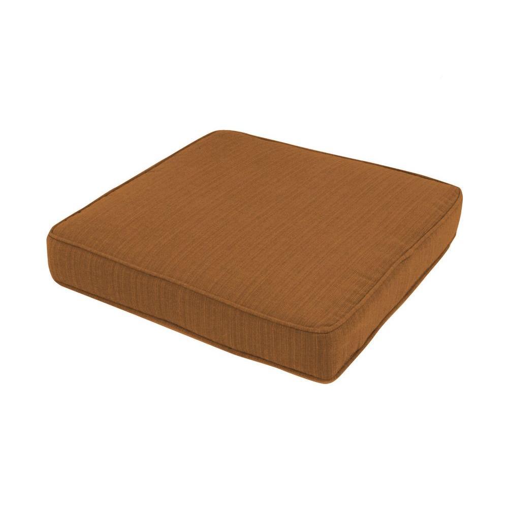 Brown Outdoor Floor/Pool Cushion