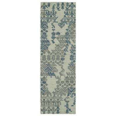 Ceneri Grey 3 ft. x 8 ft. Runner Rug
