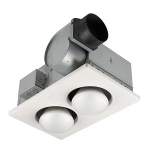 Nutone 70 Cfm Ceiling Bathroom Exhaust Fan With 250 Watt 2