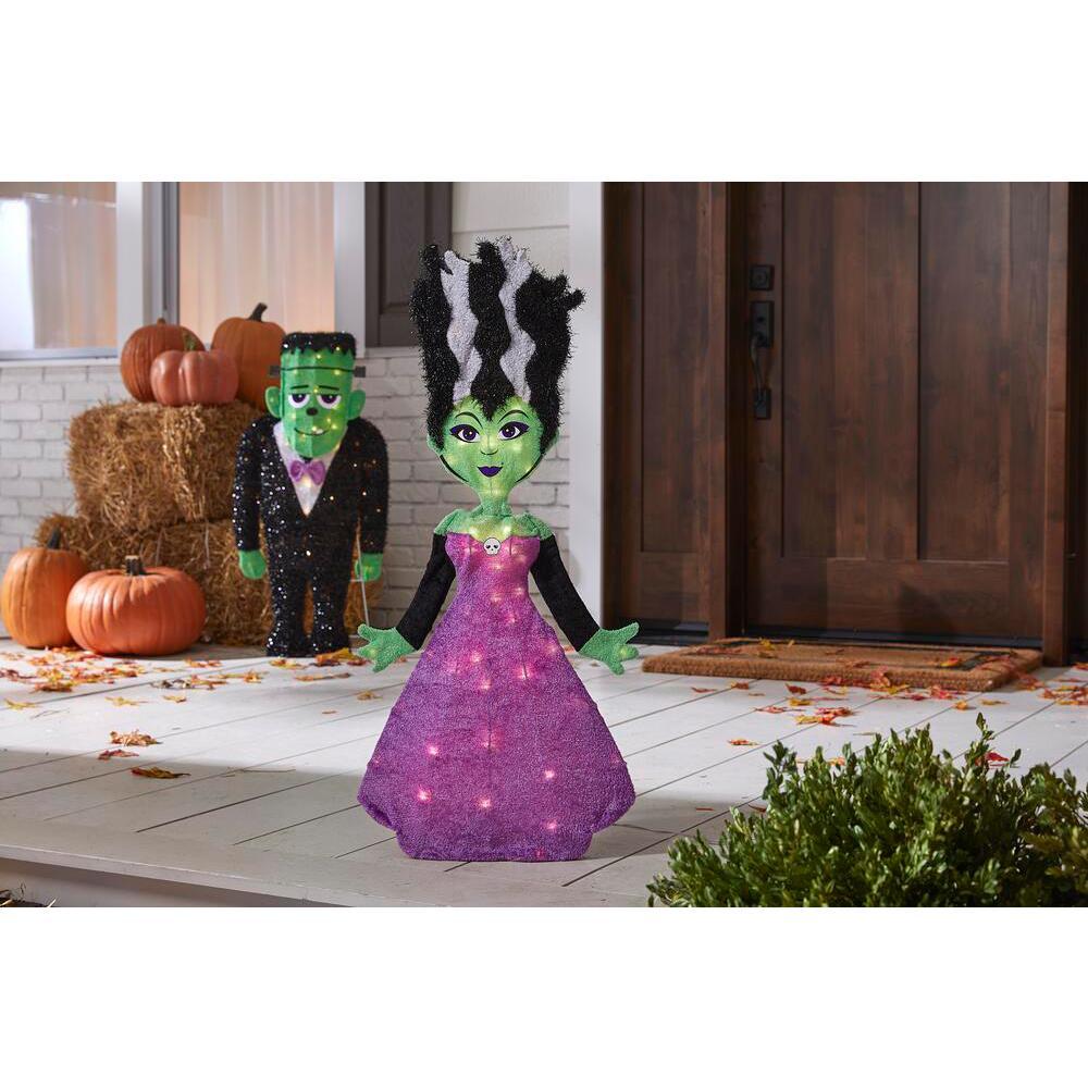3 ft LED Spookytown Monster Bride