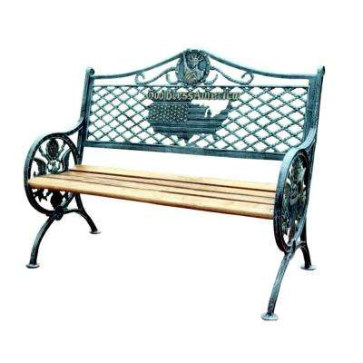 Cast Iron - Outdoor Benches - Patio Chairs - The Home Depot