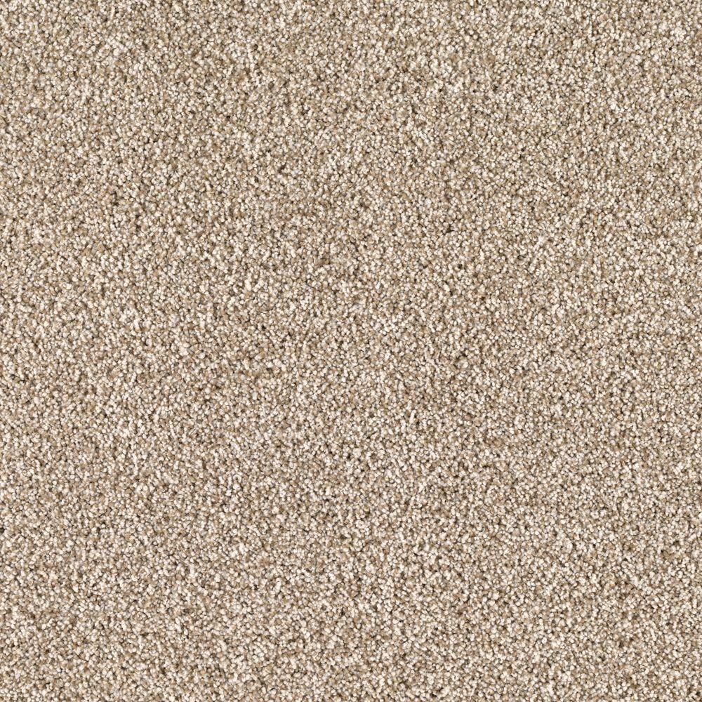 Lavish I - Color Clambake Texture 12 ft. Carpet