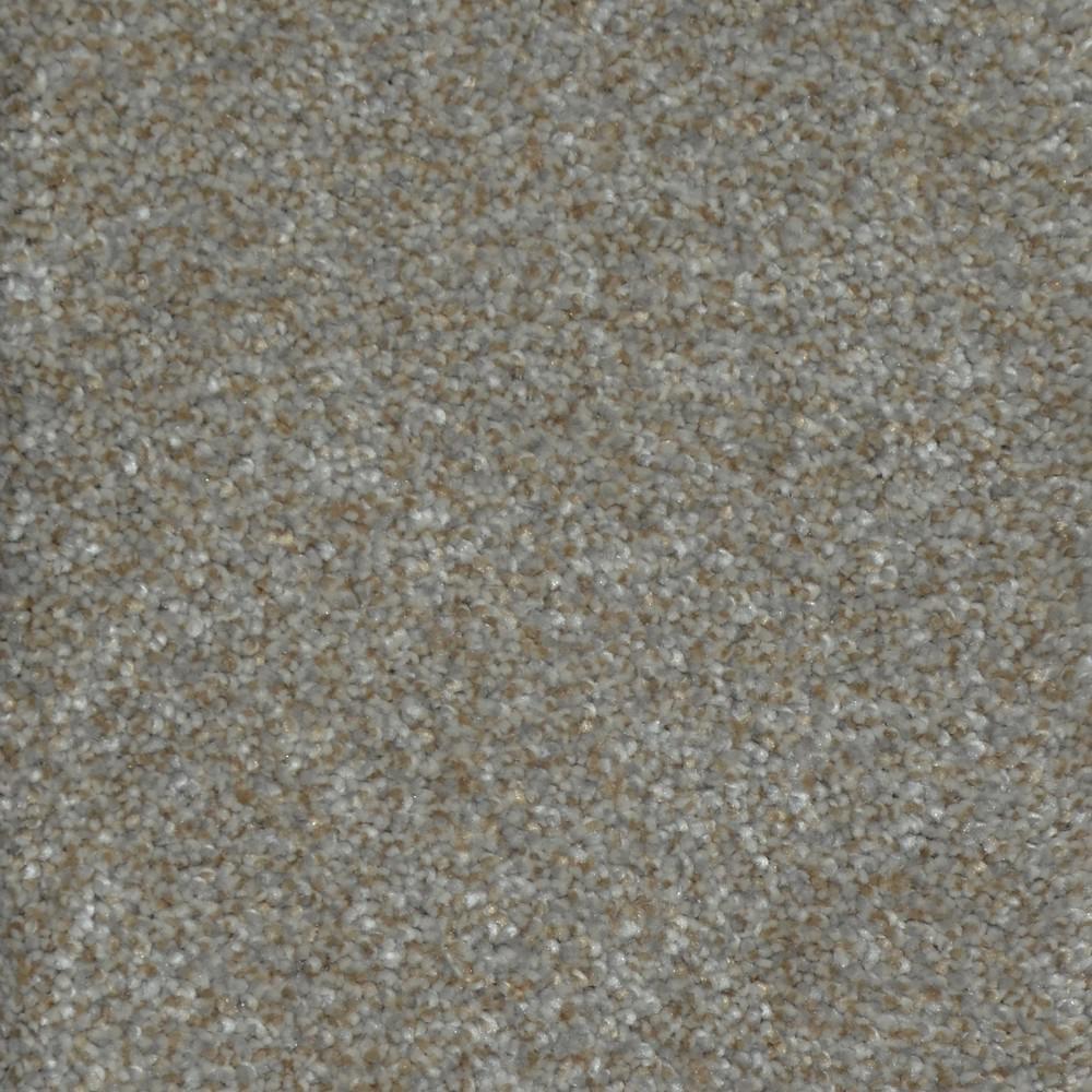 Carpet Sample - Soft Breath I - Color Lancelot Texture 8 in. x 8 in.