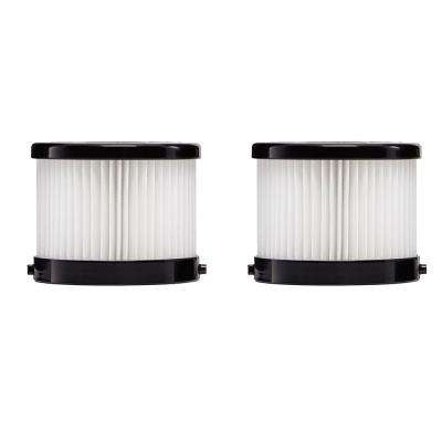 HEPA Dry Replacement Filters (2-Pack)