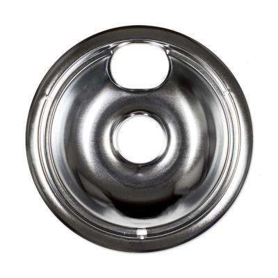 8 in. Universal Chrome Drip Bowl for Electric Ranges