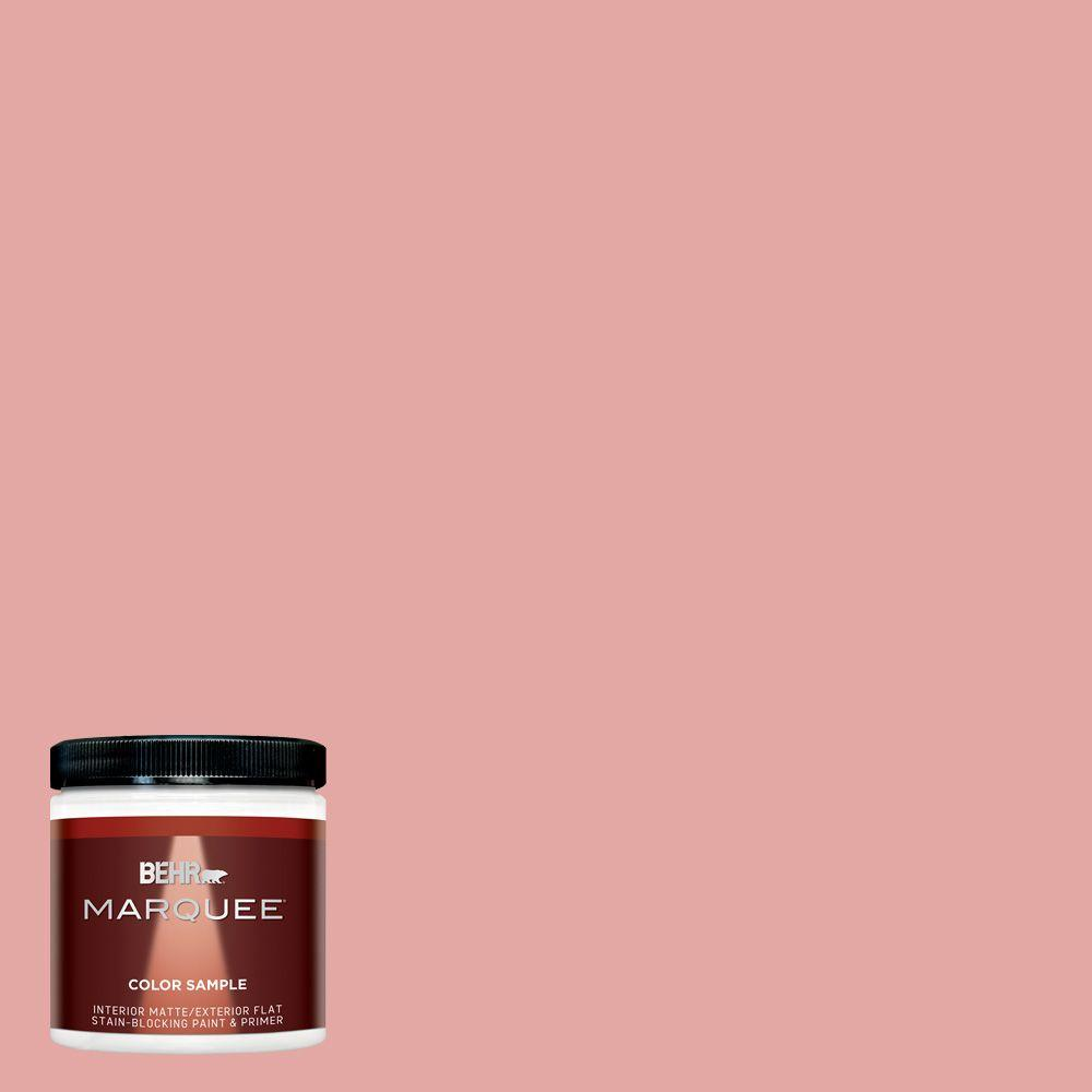 coral paint colorBEHR MARQUEE 8 oz MQ43 Coral Fountain InteriorExterior Paint