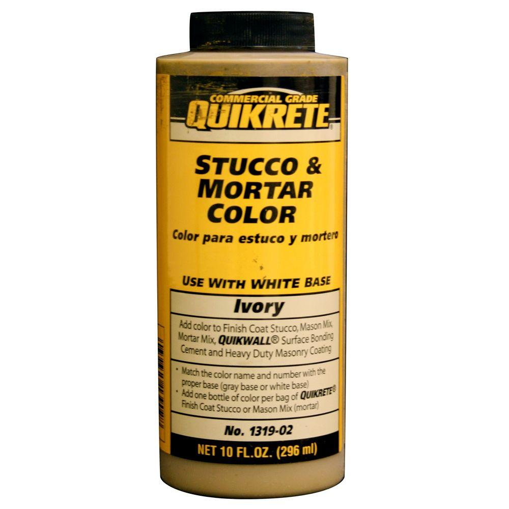 Quikrete 10 fl. oz. Ivory Stucco and Mortar Colorant
