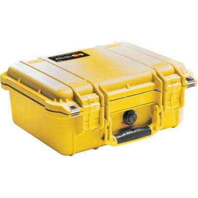 12.3 in. Protector Tool Case with Pick N Pluck Foam in Yellow