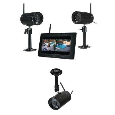 ObserverHD 4-Channel 1080p Surveillance System with 3 Wireless Camera and 7 in. Monitor