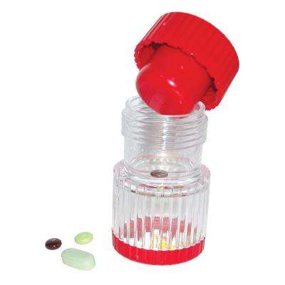 Healthsmart Pill Crusher in Red