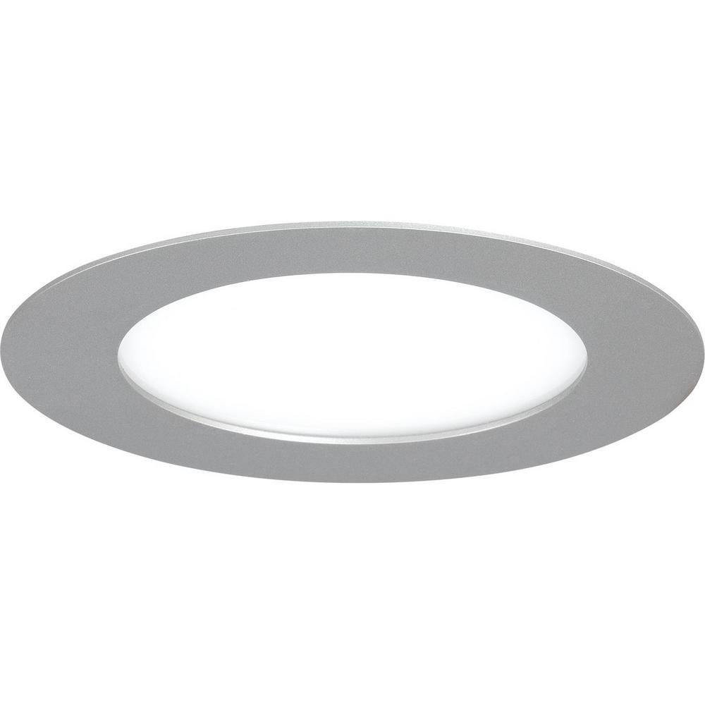 Progress Lighting 7 In 3000k Brushed Nickel Integrated Led Recessed Trim