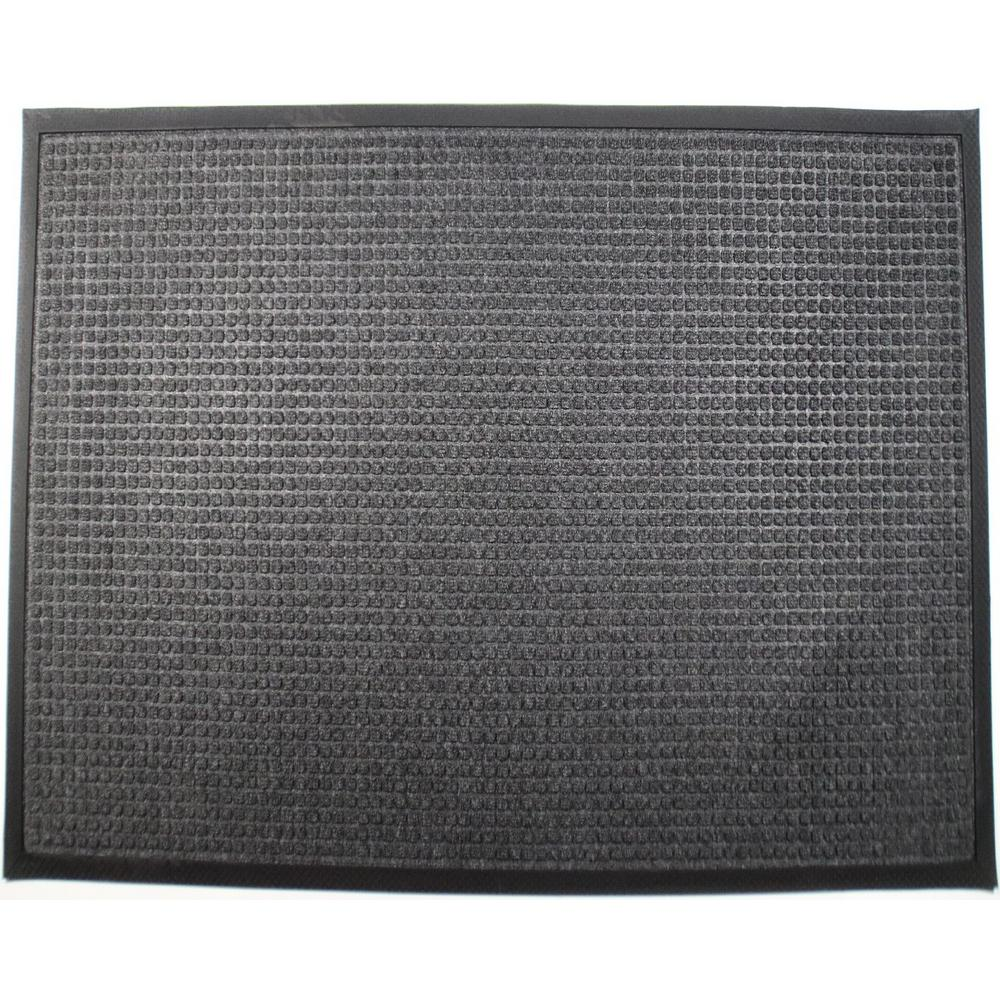 Town N Country 36 in. x 60 in. Charcoal Entrance Mat