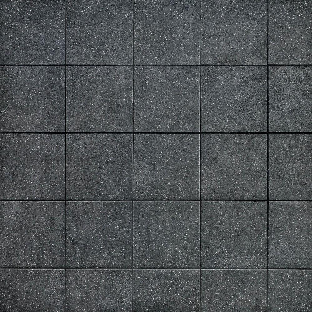 Ivy Hill Tile Branwell Nero 9 In X 9 In 11mm Matte Porcelain Floor And Wall Tile 10 76 Sq Ft Box