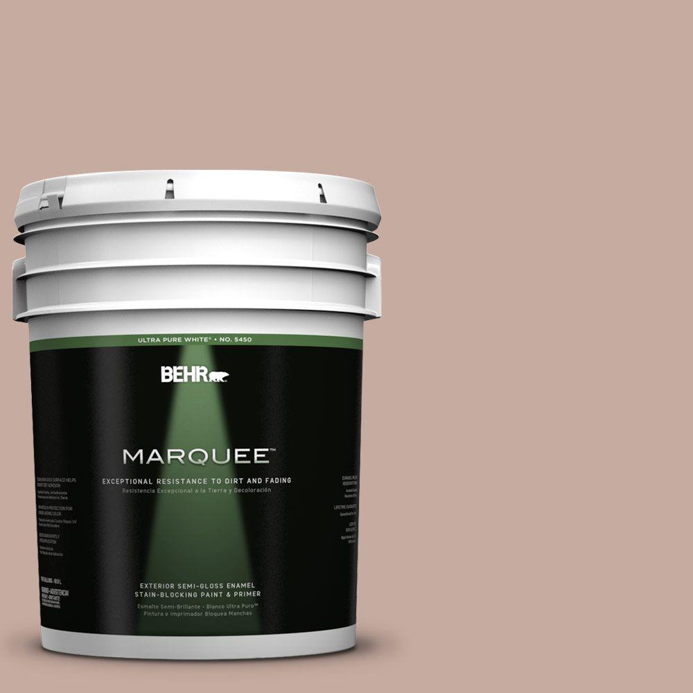 BEHR MARQUEE 5-gal. #PMD-94 Floral Arrangement Semi-Gloss Enamel Exterior Paint