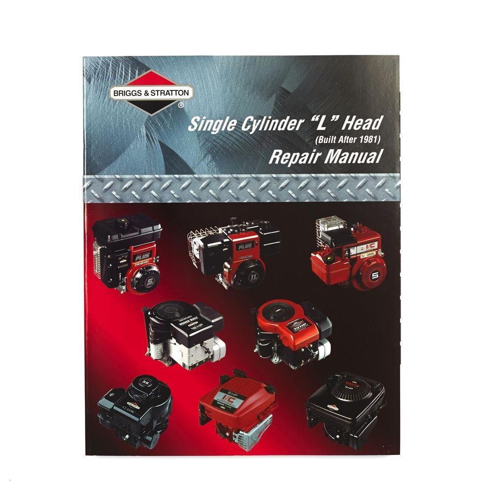 Briggs stratton repair manual 35 classic.