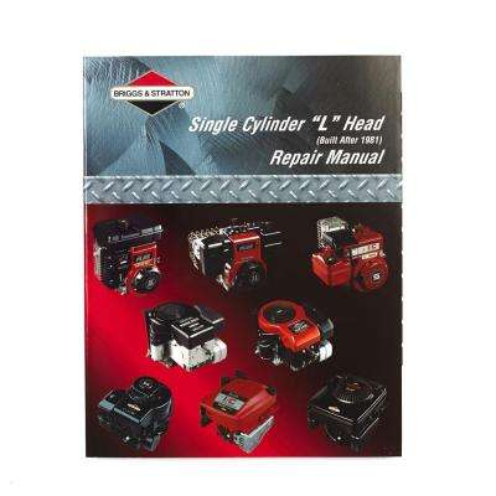 L-Head Single Cylinder Engine Manual