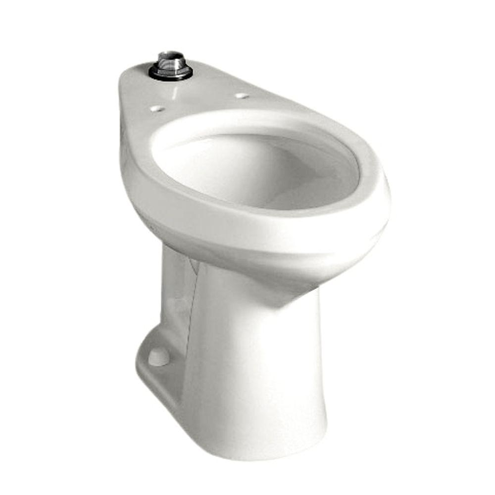 American Standard Colorado FloWise Elongated Toilet Bowl Only in White