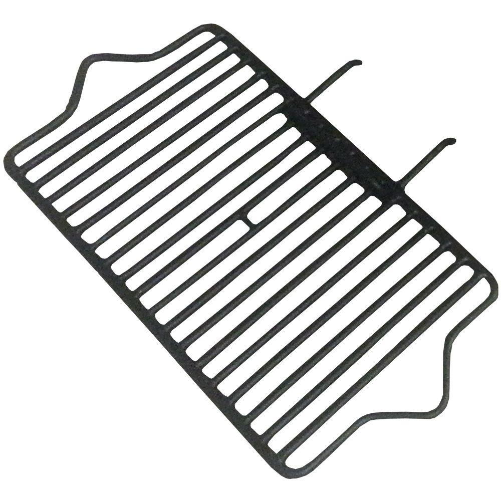 Pavestone 24 in. Square Fire Pit Grate Assembly