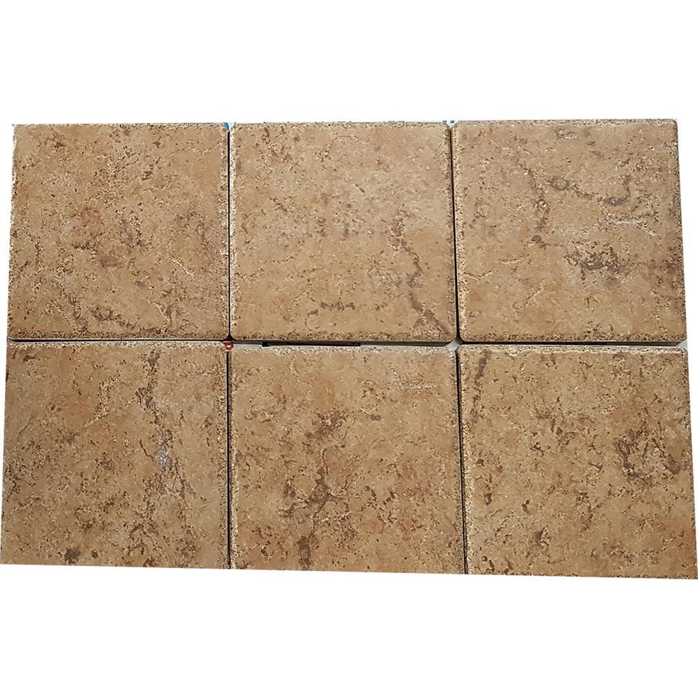 Giada Beige 6 in. x 6 in. Porcelain Floor and Wall Tile (1045.20 sq. ft. / pallet)