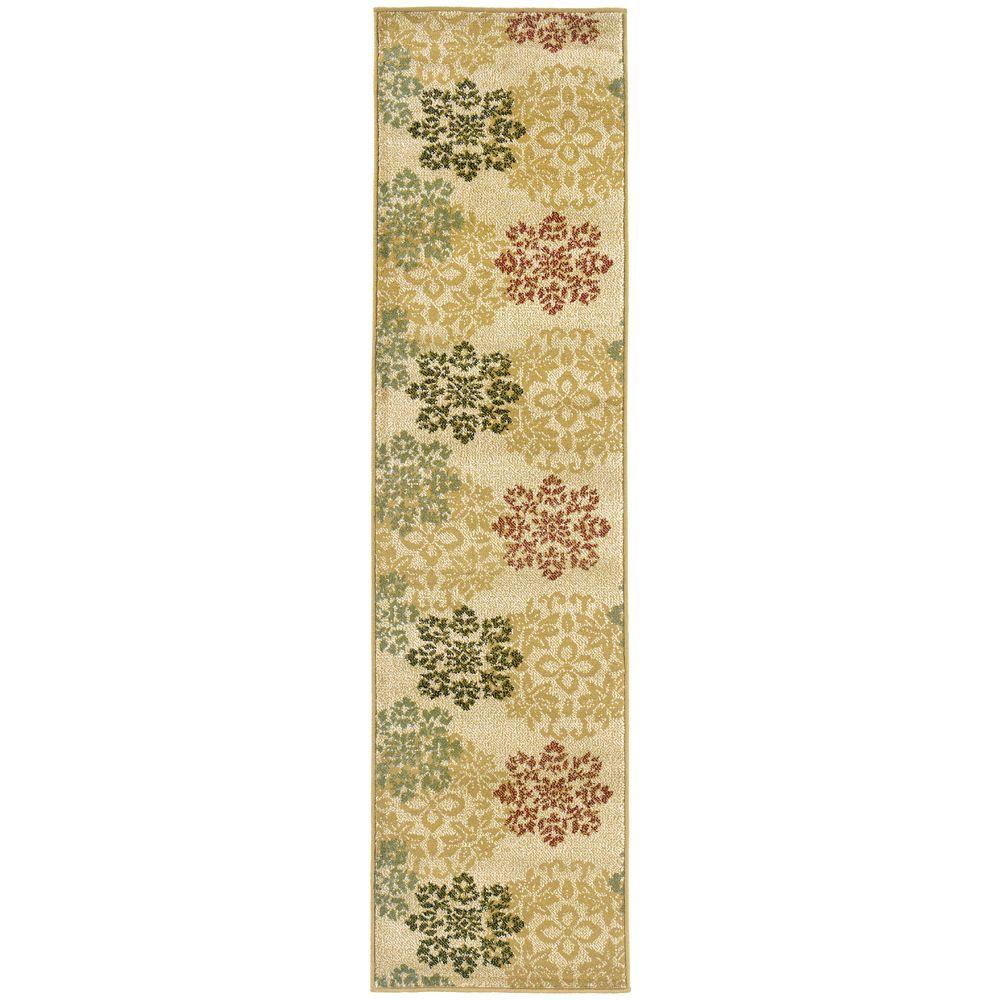 null Evanston Hancock Gold 7 ft. 10 in. x 10 ft. Area Rug