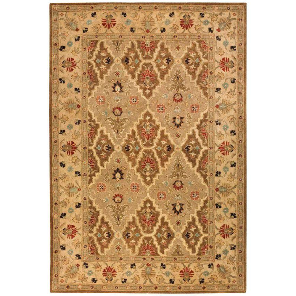 Home decorators collection menton brown spice brown soft for Home decorators rugs