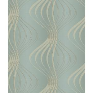 York Wallcoverings Glam Wind Sculpture Wallpaper by York Wallcoverings
