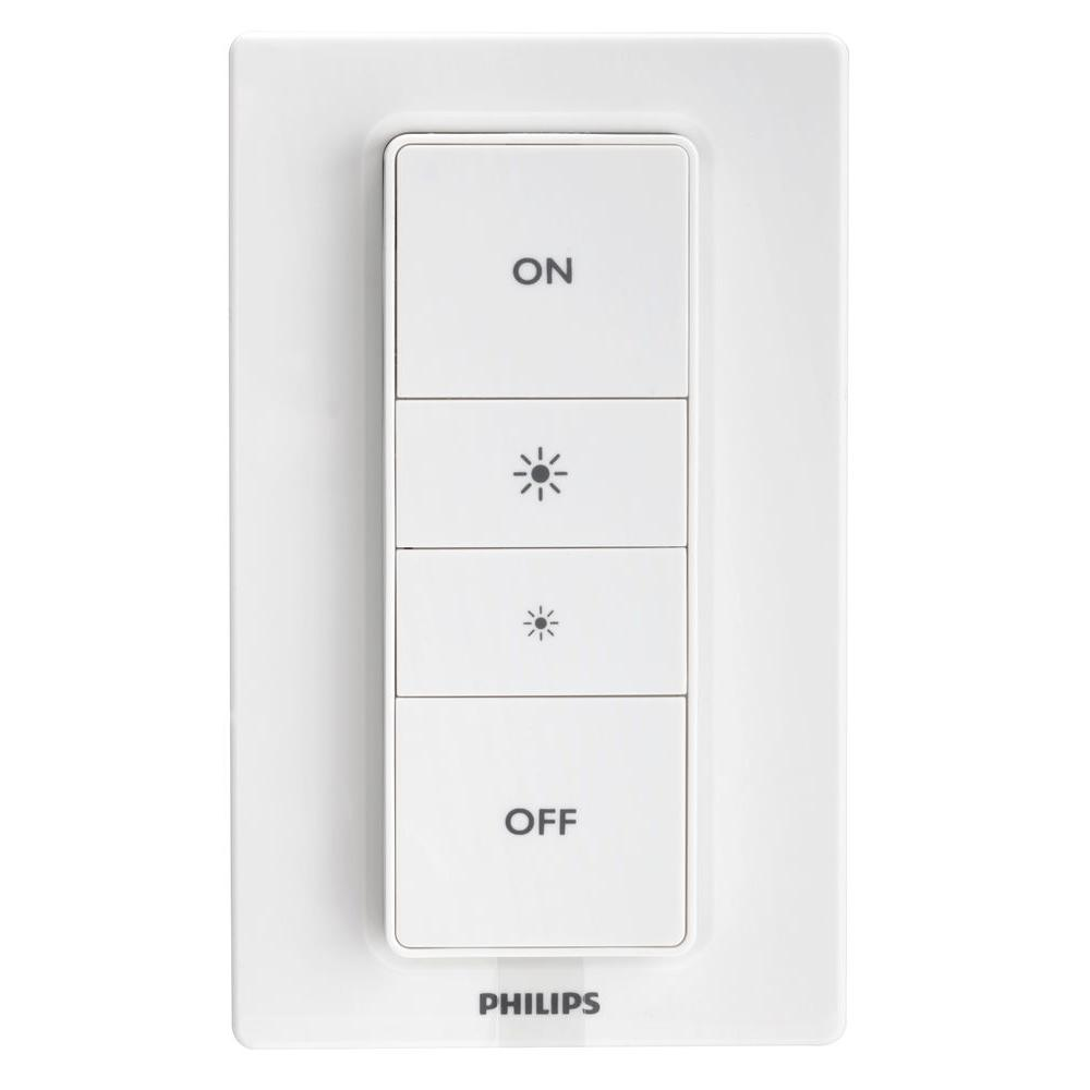 Philips Hue Dimmer Smart Switch-458141 - The Home Depot for Philips Switches  lp0lpmzq