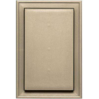 8.25 in. x 12.0625 in. #013 Light Almond Jumbo Universal Mounting Block