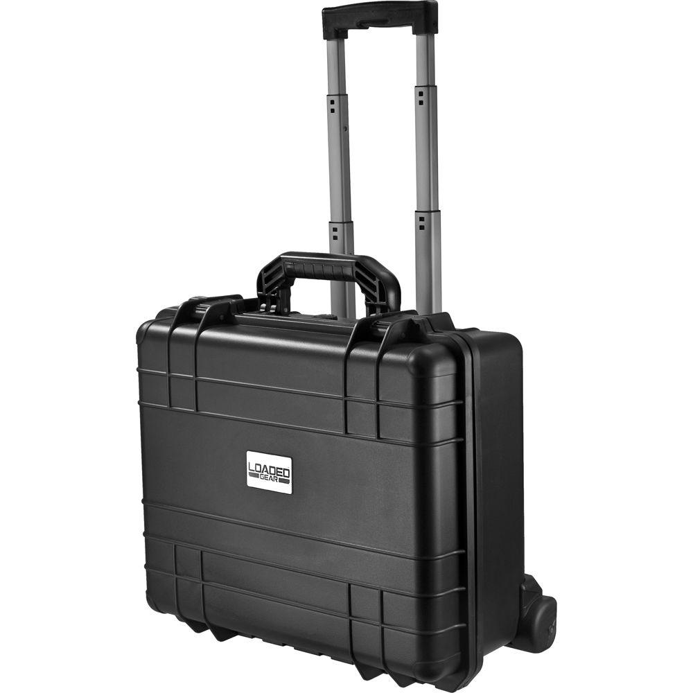 HD-600 7.9 in. Loaded Gear Hard Tool Case in Black