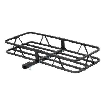 500 lbs. Capacity Basket-Style Cargo Carrier with 1.25 in. Fixed Shank and 2 in. Adapter Sleeve
