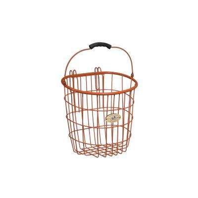 Surfside Rear Wire Pannier Basket in Orange