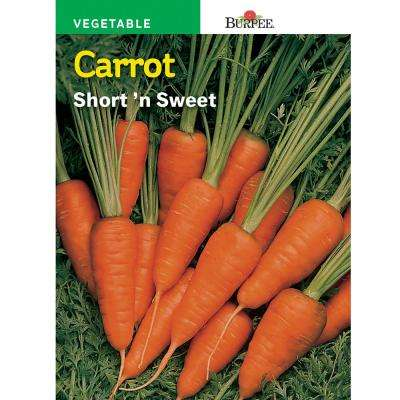 Carrot Short 'N Sweet Seed