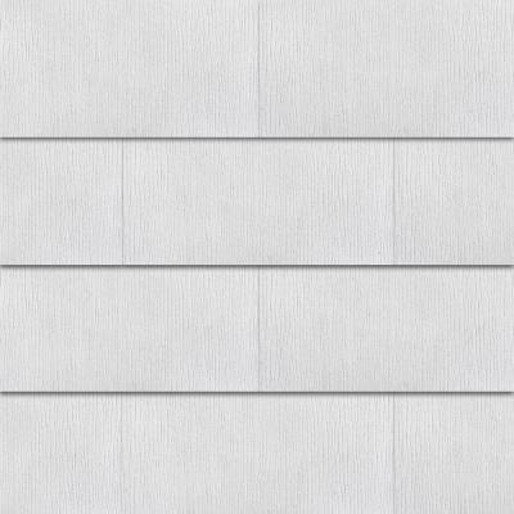 WeatherSide Purity Straight 12 in. x 24 in. Fiber-Cement Siding Shingle (18-Bundle)