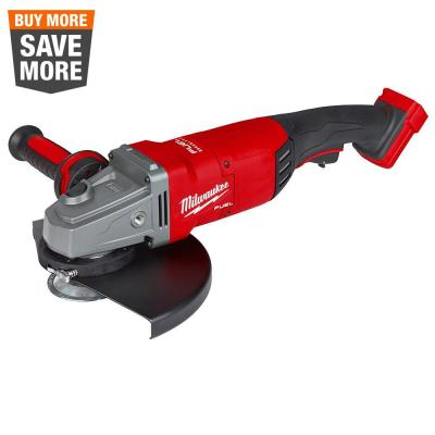 M18 FUEL 18-Volt Lithium-Ion Brushless Cordless 7 in./9 in. Angle Grinder (Tool-Only)