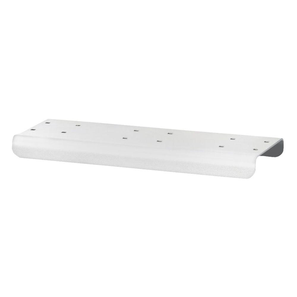 2-Wide Spreader for Rural Mailbox in White