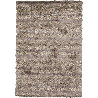 Kapaa Tan/Ivory/Taupe 8 ft. x 11 ft. Indoor Area Rug