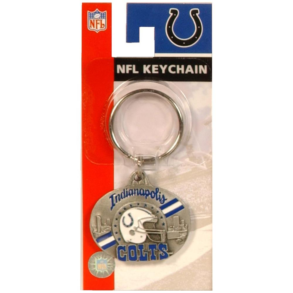 buy online d0cde 40ecc Hillman NFL Indianapolis Colts Key Chain-710881 - The Home Depot