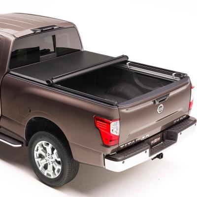 Truxedo Truxport 16 19 Nissan Titan Xd 6 Ft 6 In Bed Tonneau Cover With Utili Track System 288901 The Home Depot