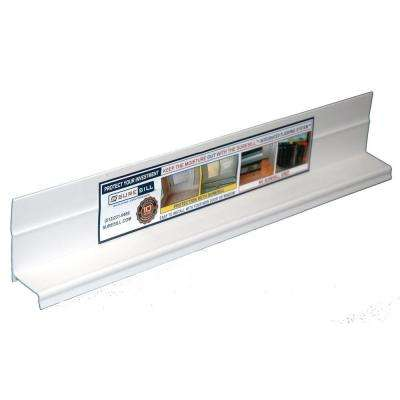 1-3/8 in. x 84 in. White PVC Sloped Head Flashing for Door and Window Installation and Flashing (20-Pack)