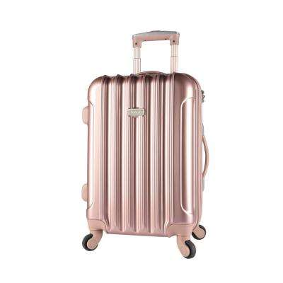 20 in. Expandable Hard Side Rolling Carry-On w/ Spinners and Metallic (Kensie)