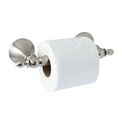 ANTICA Toilet Paper Holder with Stainless Steel Roller in Satin Nickel