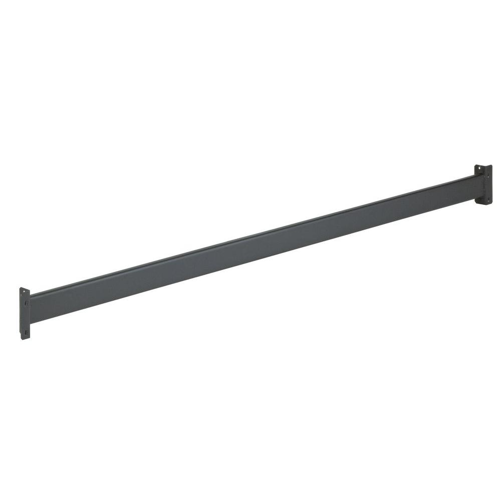 Edsal 2 in. H x 96 in. W x 2 in. D Steel Beam for Welded Rack Shelf in Gray