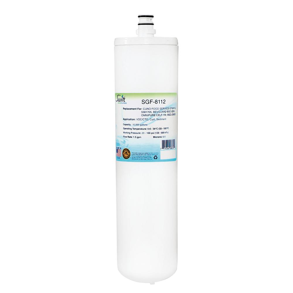 SGF-8112 Replacement Water Filter for Cuno CFS8112